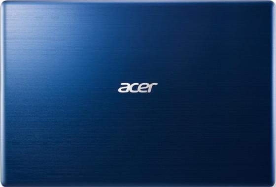"""Ноутбук Acer Aspire Swift SF314-52-74CX 14"""" 1920x1080 Intel Core i7-7500U 256 Gb 8Gb Intel HD Graphics 620 синий Linux NX.GPLER.003"""