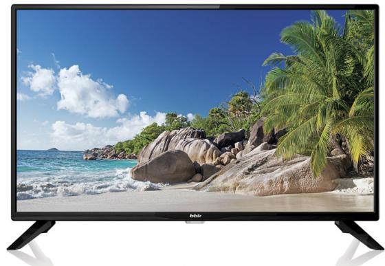 """лучшая цена Телевизор LED 32"""" BBK 32LEM-1045/T2C черный 1366x768 — USB"""