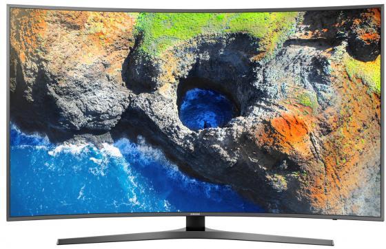 Телевизор 65 Samsung UE65MU6650UXRU титан 3840x2160 100 Гц Wi-Fi Smart TV RJ-45 Bluetooth телевизор led 65 samsung qe65q7camux серебристый 3840x2160 wi fi smart tv rs 232c