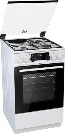 Комбинированная плита Gorenje K5341WD белый