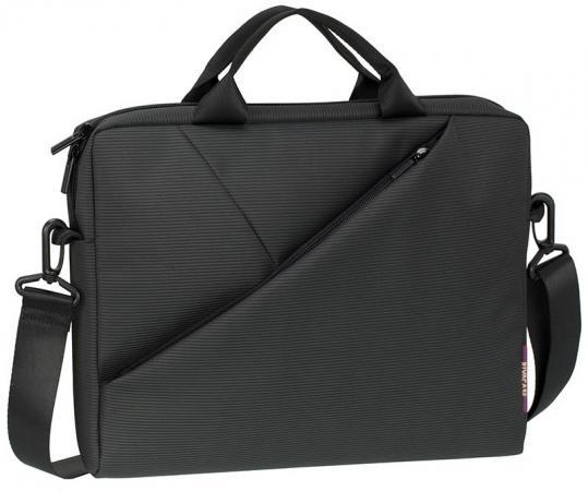 Сумка для ноутбука 15.6 Riva 8730 полиэстер серый сумка для dslr камер riva 7228 black red