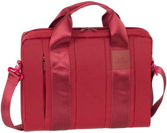 """Сумка для ноутбука 13.3"""" Riva 8820 red полиэстер красный"""