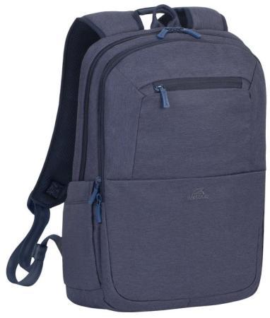 """Рюкзак для ноутбука 15.6"""" Riva 7760 полиэстер синий"""