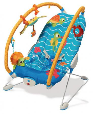 Люлька-баунсер Tiny Love Подводный мир люлька баунсер tiny love 465
