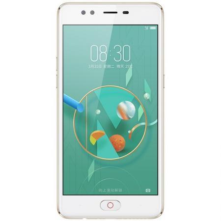 Смартфон ZTE Nubia M2 Lite золотистый 5.5 32 Гб LTE Wi-Fi GPS 3G смартфон asus zenfone live zb501kl золотистый 5 32 гб lte wi fi gps 3g 90ak0072 m00140