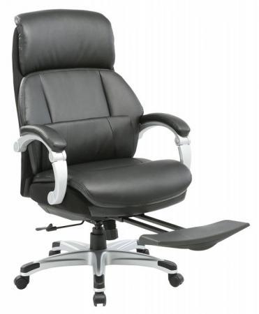 Кресло Бюрократ _MIRO/BLACK черный