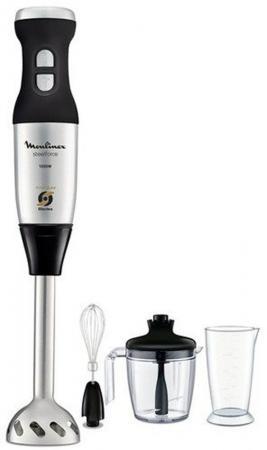 Блендер погружной Moulinex DD885D39 1000Вт чёрный серебристый