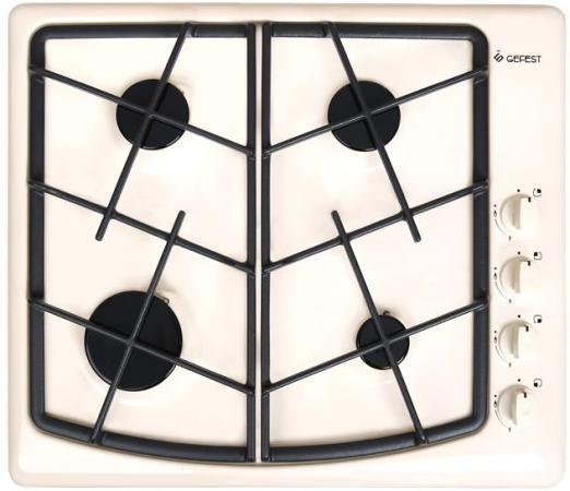 Варочная панель газовая Gefest СН 1211 К81 кремовый
