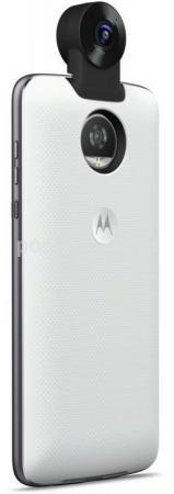 Чехол внешний мод фотокамера Motorola 360 Camera для Moto Z/Z Play ASM360CMWHEE