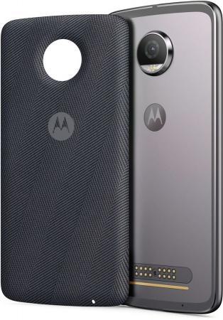 Чехол Motorola Wireless Charging для Moto Z/Z Play ASMWRLSGRYEE