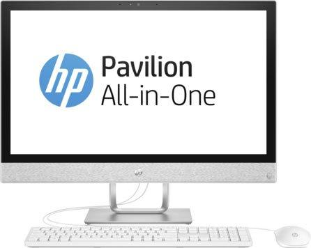 Моноблок 23.8 HP Pavilion 24-r025ur 1920 x 1080 Multi Touch Intel Core i7-7700T 12Gb 2Tb + 16 SSD Radeon 530 2048 Мб Windows 10 Home белый 2MJ50EA моноблок 27 hp pavilion 27 r015ur 1920 x 1080 intel core i7 7700t 12gb 2tb 16 ssd radeon 530 2048 мб windows 10 home белый 2mj75ea
