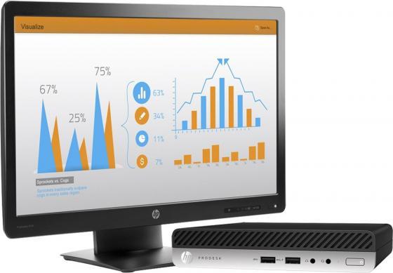 HP Bundle ProDesk 400 G3 Mini i3-7100T,4GB DDR4 (1x4GB),500GB,USBkbd/mouse,Vertical Chassis Stand,Intel 7265 AC 2x2 BT,Win10Pro(64-bit),1-1-1 Wty+ Monitor HP P232