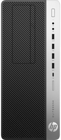 Системный блок HP EliteDesk 800 G3 i7-7700K 4.2GHz 16Gb 2Tb 256Gb SSD GTX1080-8Gb DVD-RW Win10Pro серебристо-черный 2SF59ES системный блок lenovo legion y520t 25ikl i7 7700 3 6ghz 16gb 2tb ssd gtx1060 3gb dvd rw win10 черный 90h700bdrs