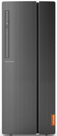 Неттоп Lenovo IdeaCentre 510-15IKL Intel Core i3-7100 4Gb 1Tb nVidia GeForce GTX 1050 2048 Мб DOS черный 90G8001TRS