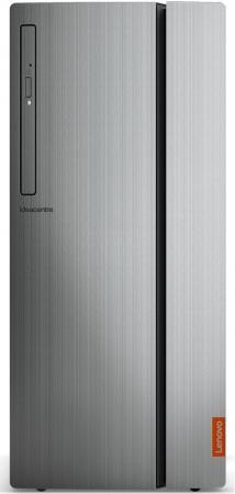 Фото Системный блок Lenovo ideacentre 720-18IKL i3-7100 3.9GHz 8Gb 1Tb GT730-2Gb DVD-RW DOS черный 90H0000SRK системный блок lenovo ideacentre 720