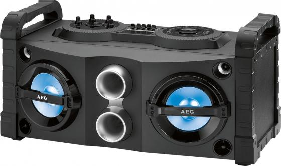 Bluetooth-аудиосистема AEG EC 4835 черный bluetooth аудиосистема aeg bss 4827 anthracite серый