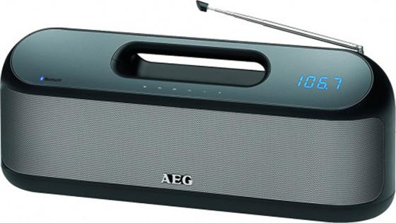 Bluetooth-аудиосистема AEG SR 4842 BTS черный bluetooth аудиосистема aeg bss 4827 anthracite серый