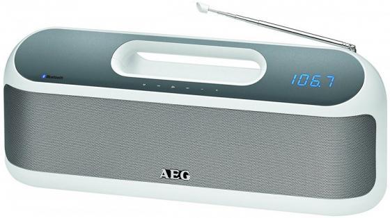 Bluetooth-аудиосистема AEG SR 4842 BTS белый мощная домашняя аудиосистема с bluetooth®