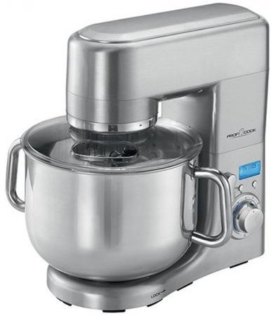 Кухонный комбайн Profi Cook PC-KM 1096 серебристый