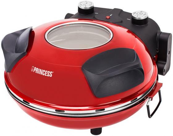 Прибор для приготовления пиццы Princess 115003 красный чёрный
