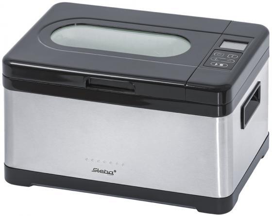 Медленноварка Steba SV 2 800 Вт 8 л черный серебристый мультиварка steba dd 2 xl eco 1000 вт 6 л черный серебристый