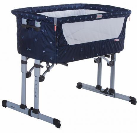 Кроватка-колыбель Zibos ALA (bandana blue) утюг 9970