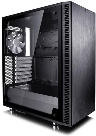 Корпус ATX Fractal Define C TG Без БП чёрный FD-CA-DEF-C-BK-TG корпус matx fractal design define mini c tg mini tower без бп черный