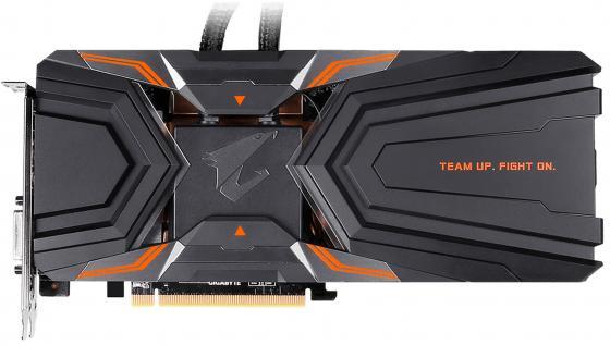 Купить Видеокарта GigaByte GeForce GTX 1080 Ti GV-N108TAORUS X W-11GD PCI-E 11264Mb 352 Bit Retail