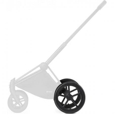 Комплект задних колес для коляски Cybex PriamTR (matt black) комплект задних колес для коляски cybex priam all terrain matt black