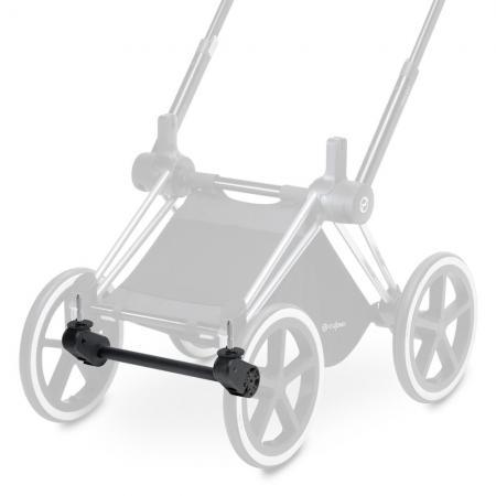 Адаптер/Ось передних колес для коляски Cybex Priam (matt black) комплект задних колес для коляски cybex priam all terrain matt black