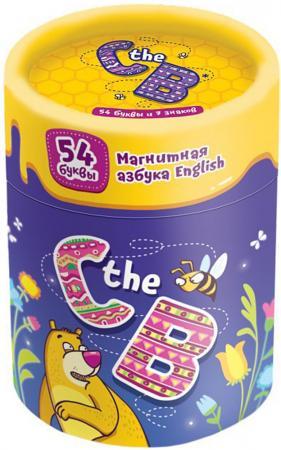 Настольная игра развивающая Банда Умников Магнитная азбука - C the B УМ090 магнитная игра банда умников c the b на английском языке ум090