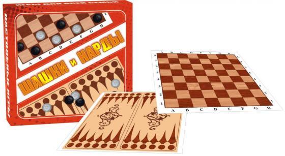 Настольная игра набор игр Эра Шашки-нарды C-301