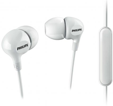 Гарнитура Philips SHE3555 белый гарнитура philips she1455 white