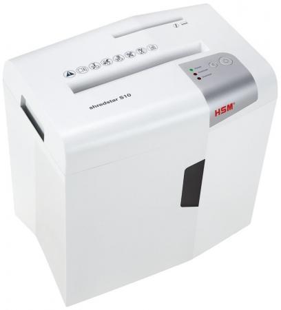Уничтожитель бумаг HSM ShredStar S10-6 12лст 18лтр 1042121 уничтожитель бумаг rexel promax res1123 12лст 23лтр 2101829a