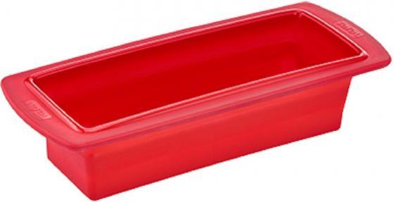 Форма для выпечки Tefal J4094814 кругл. d=24см силикон платиновый красный (2100088473)