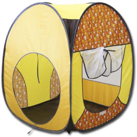 Игровая палатка BELON Квадрат Милые мишки ПИ-004К-ПР6