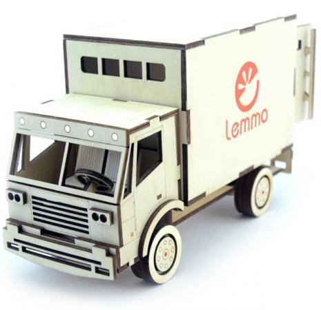 Конструктор LEMMO Грузовик Фургон 82 элемента ГР-2 lemmo конструктор леммитс кеша