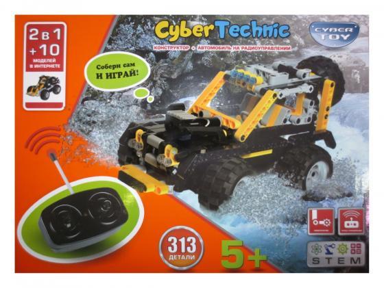 Конструктор CYBER TOY 7782 CyberTechnic 2 в 1 313 элементов конструктор фиксики легковой автомобиль 2 в 1