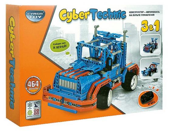 Конструктор CYBER TOY 6505 CyberTechnic 3 в 1 464 элемента конструктор cyber toy cybertechnic 2 в 1 303 детали 7781