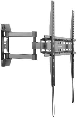 Кронштейн ARM Media LCD-414 черный для LED/LCD ТВ 26-55 настенный до 35кг комплект адаптеров opel astra h opel astra family 10 opel zafira тип с