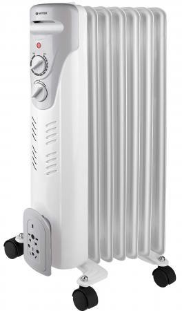 Масляный радиатор Vitek VT-1708(W) 1500 Вт белый