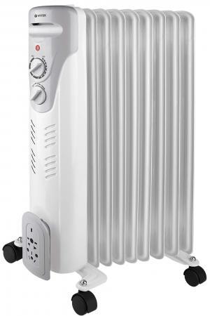 Масляный радиатор Vitek VT-1709(W) 2000 Вт белый