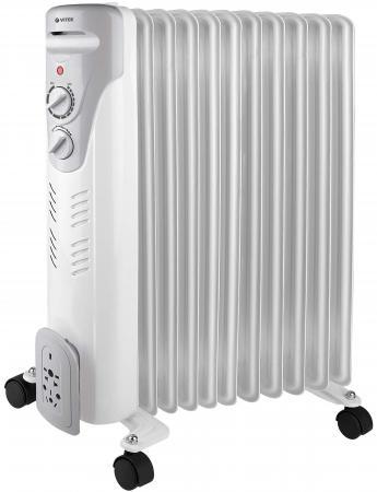 Масляный радиатор Vitek VT-1710 W 2000 Вт белый