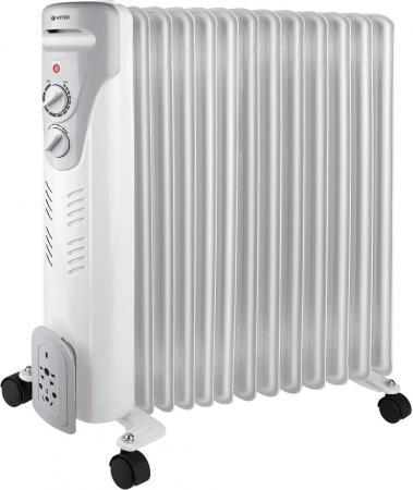 Масляный радиатор Vitek VT-1711 W 2500 Вт белый