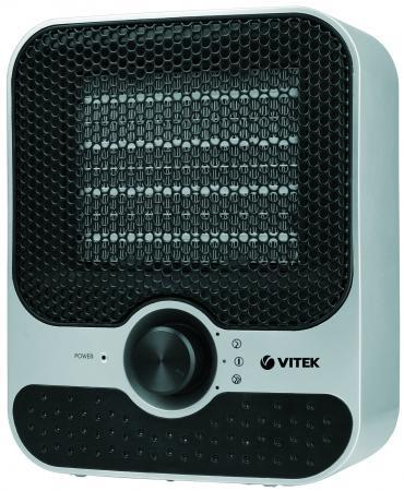 Тепловентилятор Vitek VT-1759(SR) 1500 Вт серебристый чёрный все цены