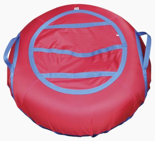 Тюбинг BELON Эконом СВ-002-О/КР ПВХ резина текстиль красный тюбинг belon тент спираль аквапарк 85см