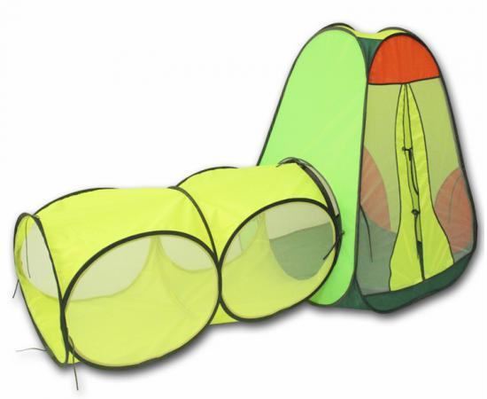 Игровая палатка BELON Конус с тоннелем 2 секции ПИ-004/2-СТ1