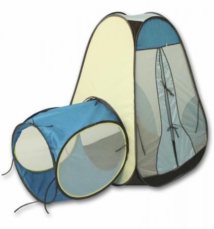 Игровая палатка BELON Конус с тоннелем 1 секция ПИ-004/1-СТ4