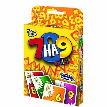 Настольная игра семейная Magellan 7 на 9 multi MAG09951 magellan настольная игра 7 на 9