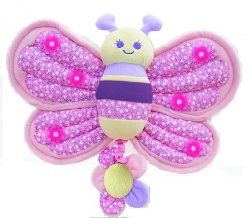 Игрушка-подвеска LITTLE BIRD TOLD ME Музыкальная Бабочка LB3013 игрушки подвески little bird told me игрушка спираль гусеница для детской кроватки